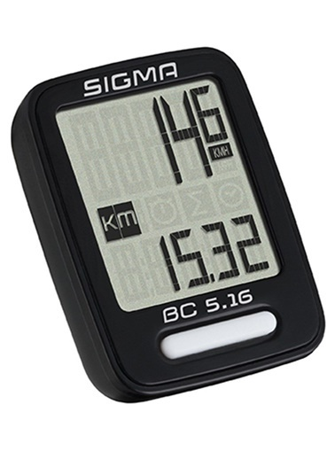 Sigma Sigma Km Saati Bc 5.16 Kablolu Siyah  Renkli